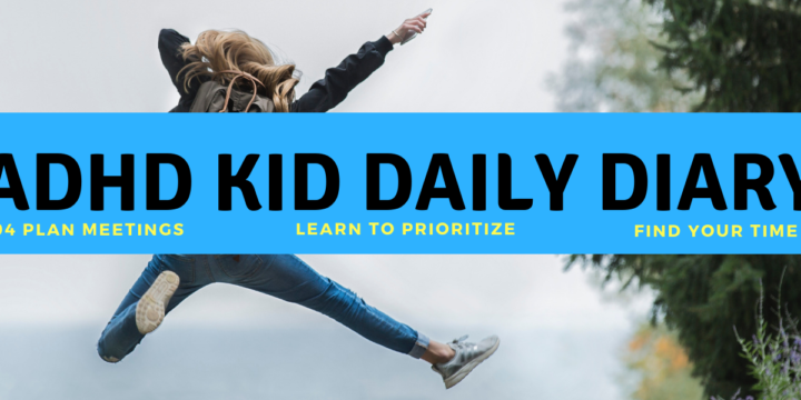 Press Release: ADHD Kid Daily Diary now available!